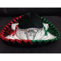 Sombrero Charro Tricolor Septiembre Fiestas Patrias Economic