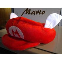 Gorras Mario Bros (videojuego) Diferentes Modelos.