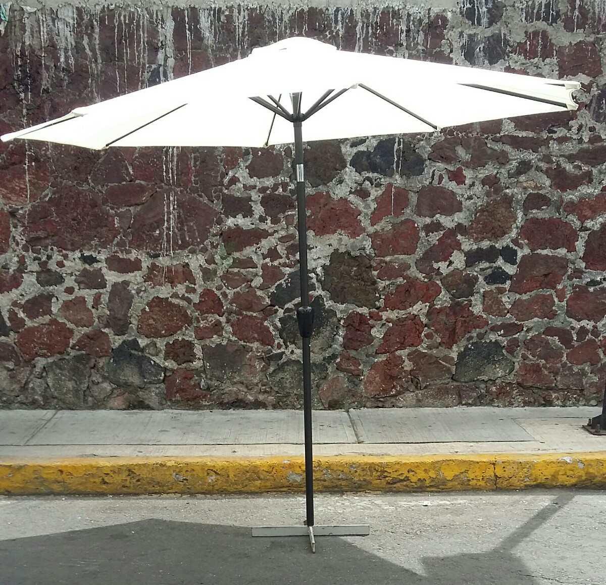 Sombrilla de jardin playa alberca con angulo de - Sombrilla de jardin ...