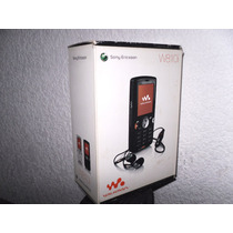 Sony Ericsson W810i Caja Con Manual, Cd Y Adaptador Pro Duo