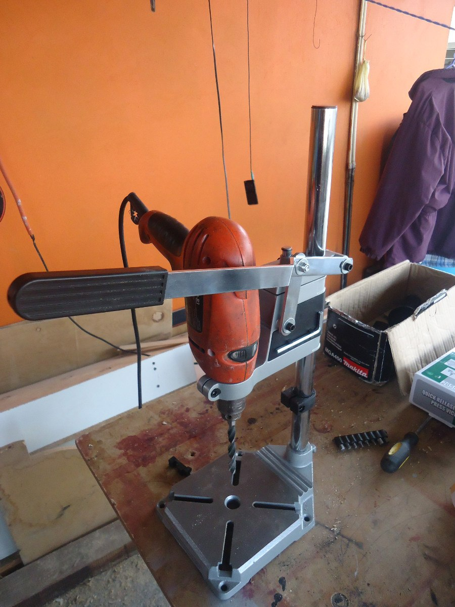 Soporte vertical para taladro en mercadolibre for Soporte ducha sin taladro