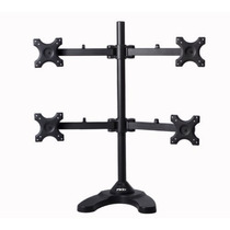 Pwr Quad-monitor-stand Led-lcd-desk-mount Para Four-4-panta