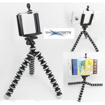 Mini Trípie Pulpo Flexible Camaras Y Soporte Para Smartphone