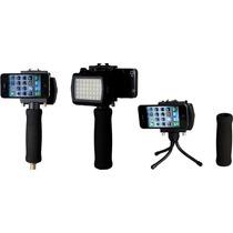 Grip Extension Y Lampara P/ Iphone Interfit Int149 Nuevo Hm4