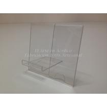 Exhibidor Para Celulares Con Descripción De Acrílico 10 Pzas