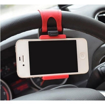 Porta Telefono Celular Hold Volante De Automóvil Iphone Ipod