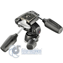 Manfrotto 804rc2 Cabeza 3-way Pan/tilt Con Plato 200pl-14 Qr