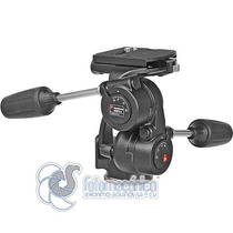 Manfrotto 808rc4 Cabeza 3-way Pan/tilt Para 8 Kg