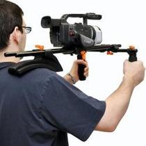 Soporte Dual Grip Hombro Estabilizador Camara Video Foto Hm4