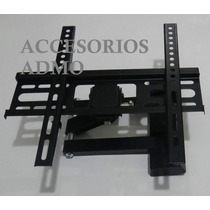 Soporte Brazo Movible Pantalla Tv Plasma Lcd Pared 32 A 63