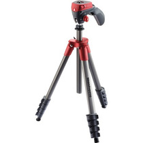 Manfrotto Tripie C/cabeza Compact Act. (mkcompactacn-rd)