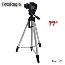 Tripie Camara Digital Profesional De 77 Nikon Canon Sony