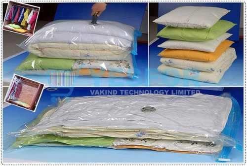 Space Bag. Comprime Tu Ropa Y Organizala 60 X 80 Cm. Bolsa