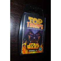 Star Wars Top Trumps Juego De Cartas 2005 Made In Uk