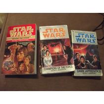 Lote Paquete De 3 Libros De Starwars Idioma Ingles