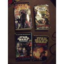 Lote Paquete De 4 Libros De Starwars Idioma Ingles