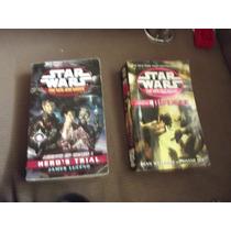 Lote Paquete De 2 Libros De Starwars Idioma Ingles
