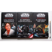 Paquete De 3 Libros De Star Wars - Nuevos Novelas En Español
