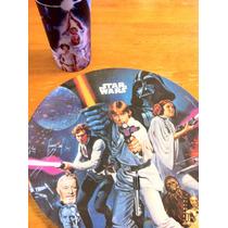 Star Wars Set De Platos Y Vaso De Plastico Imagen Clasica