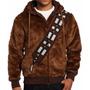 Chamarra De Chewbacca Star Wars C/ Gorro. Tallas