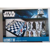 Ajedrez Star Wars 3d, 32 Figuras