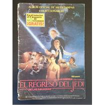 Álbum El Regreso Del Jedi. La Guerra De Las Galaxias. 1983