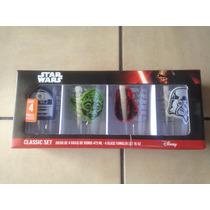 Colección De Vasos De Cristal Star Wars Envío Gratis