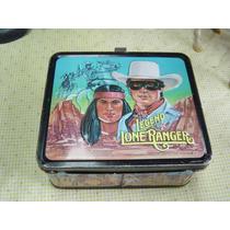 Antigua Lonchera Lone Ranger El Llanero Solitario 1980