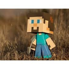 Steve Minecraft Figura De Vinyl 8 Pulgadas Version Normal.
