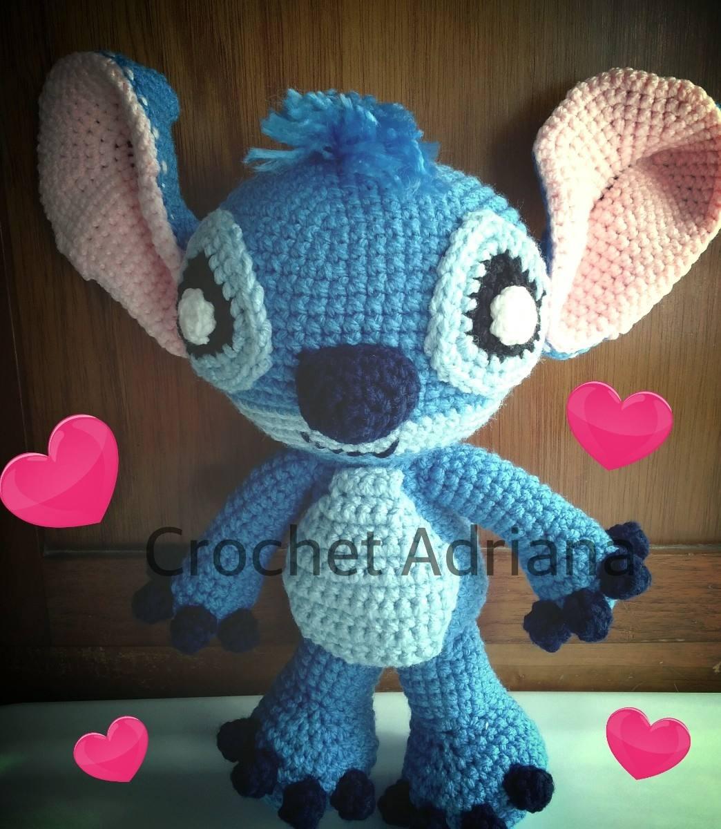 Stitch Amigurumi Tejido Crochet - USD 550.00 en MercadoLibre