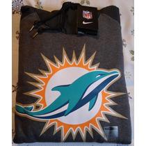 Sudadera Nike Nfl Delfines Miami Gold - Talla L
