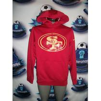 Sudadera Hoodie Oficial Nike Nfl De 49ers San Francisco