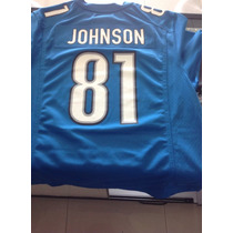 Jersey Nfl Detroit Lions Megatron Johnson Talla Mediana