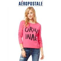 Sudadera Xl Rosa Aeropostale Mujer Padrisima 100% Original!!