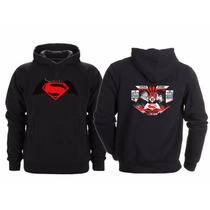 Sudadera Batman Vs Superman Dawn Of Justice Face Off