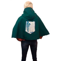Shingeki No Kyojin , Attack On Titan Capa Detallada, Unisex
