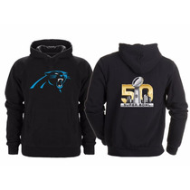 Sudadera Super Bowl 50 Nfl Panteras Carolina Panthers