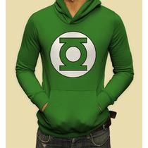 Sudadera Dc Comics Mod: Linterna Verde Logo En Vandalos