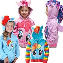 My Little Pony Sudadera Para Niñas Hoddie 18m-6a