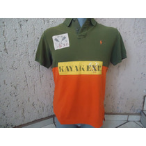 Ralph Lauren Playera Polo Vintage Look Talla Xl $890