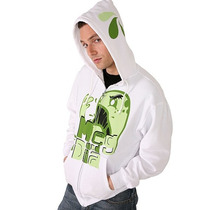 Hot Topic Sudadera Blanca Meg And Dia Monster M