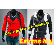 Sudadera Hombre, Hoodies, Assassins Creed Negra Blanca Y Mas