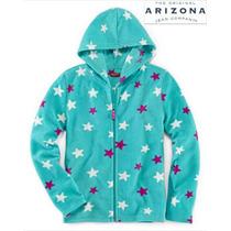 Sudadera Talla 6 Arizona Azul Estrellas Hoodie Nina Hermosa!