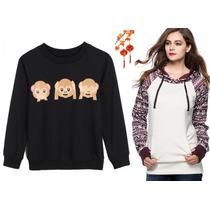 Moda Japonesa Oriental Asiat Hodie Sudader Abrigo Whats S Xl