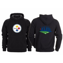 Sudadera Super Bowl 43 Nfl Pittsburgh Steelers Acereros