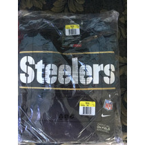 Sudadera Nike Pittsburgh Steelers Charcoal Drive Gold Hoodie