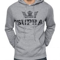Sudadera Supra Premium 100% Algodón, Dc Vans Nike