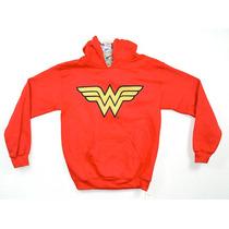 Wonder Woman Mujer Maravilla Dc Comics Sudadera 100% Orig