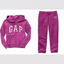 Gap Chamarra Y Pants Capri, Niña Talla 6-7 Años