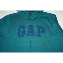 ~chamarra Gap Hombre Con Gorro Original Nueva Talla M